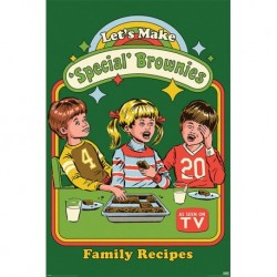 Poster Steven Rhodes Lets Make Special Brownies