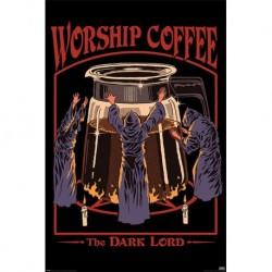Poster Steven Rhodes Worship Coffee