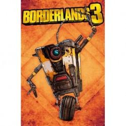 Poster Borderlands 3 Claptrap
