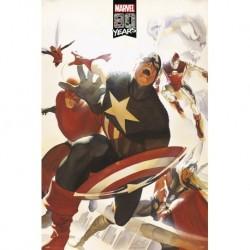 Poster Marvel 80 Years Avengers
