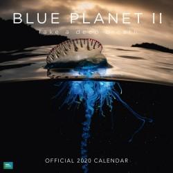 Calendario 2020 30X30 Bbc Blue Planet