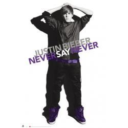 Poster Justin Bieber Blanco