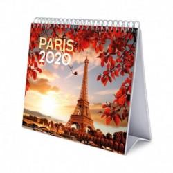 Calendario De Escritorio Deluxe 2020 Paris