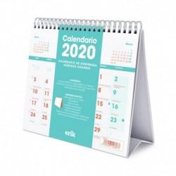 Calendario De Escritorio Deluxe 2020 Genérico