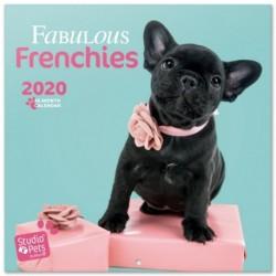 Calendario 2020 30X30 Studio Pets French Bulldog