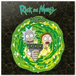 Calendario 2020 30X30 Rick & Morty