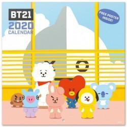 Calendario 2020 30X30 Bt21