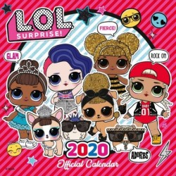 Calendario 2020 30X30 L.O.L. Surprise!