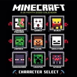 Calendario 2020 30X30 Minecraft