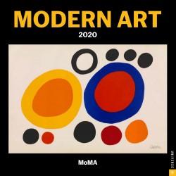 Calendario 2020 30X30 Modern Art