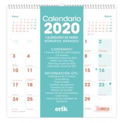 Calendario 2020 30X30 Generico