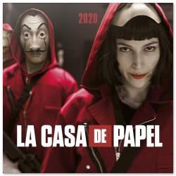 Calendario 2020 30X30 La Casa De Papel
