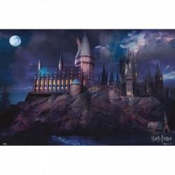 Poster Harry Potter Hogwarts