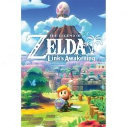 Poster The Legend Of Zelda Links Awakening