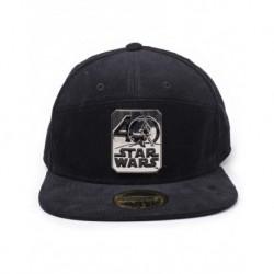 Gorra Star Wars 40 Aniversario Metal Logo