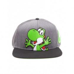 Gorra Super Mario Gris Yoshi