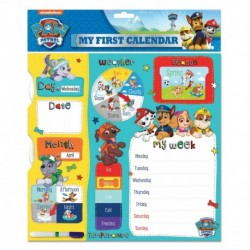 Calendario My First Calendar Paw Patrol