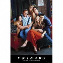 Poster Friends Personajes