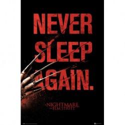 Poster Pesadilla En Elm Street Never Sleep Again