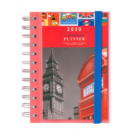 Agenda 2020 Dia Pagina London
