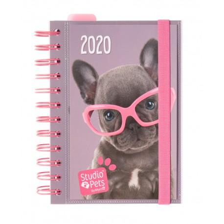 Agenda 2020 Dia Pagina Studio Pets Dog