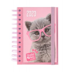 Agenda 2020 Dia Pagina Studio Pets Cat