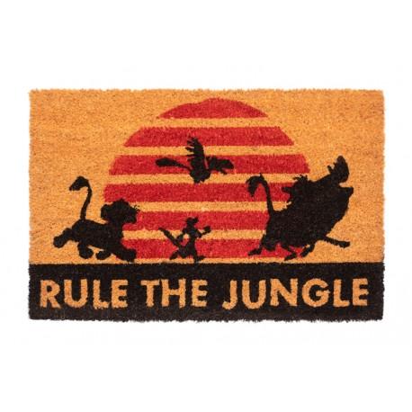 Felpudo Disney El Rey Leon Rule The Jungle