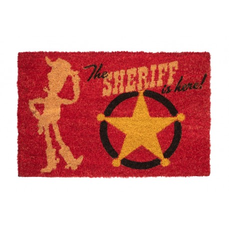 Felpudo Disney Toy Story The Sheriff Is Here