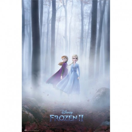 Poster Disney Frozen Sisters