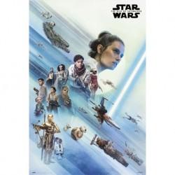 Poster Star Wars Episodio IX La Resistencia