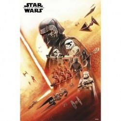 Poster Star Wars Episodio IX Primera Orden