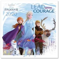 Calendario 2020 30X30 Disney Frozen 2