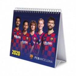 Calendario De Escritorio Deluxe 2020 Fc Barcelona