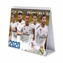 Calendario De Escritorio Deluxe 2020 Real Madrid