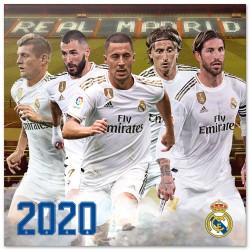 Calendario 2020 30X30 Real Madrid