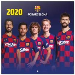 Calendario 2020 30X30 Fc Barcelona