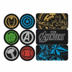 Set Imanes Magneticos Marvel Avengers