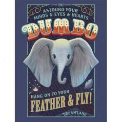 Print 30X40 Cm Disney Dumbo Feather & Fly