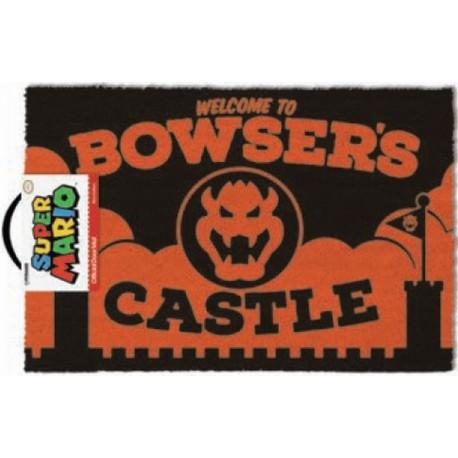 Felpudo Super Mario Bowsers Castle
