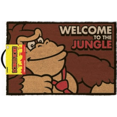 Felpudo Donkey Kong Welcome To The Jungle