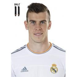 Postal A4 Real Madrid Bale 2013-14