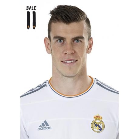 Postal A4 Real Madrid Bale 2013-14