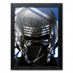 Print Enmarcado 30X40 Cm Star Wars Episodio IX Kylo Ren