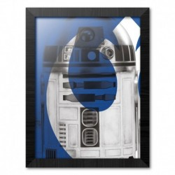 Print Enmarcado 30X40 Cm Star Wars Episodio IX R2-D2