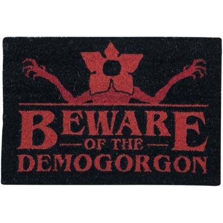 Felpudo Stranger Things Beware Of The Demogorgon