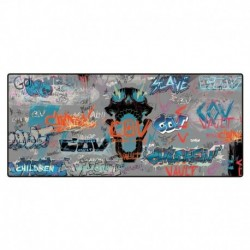 Mousepad Grande 80X35 Borderlands 3 Grafitti