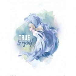 Print 30X40 Cm Disney Frozen II Elsa & Horse True To Myself