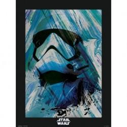 Print 30X40 Cm Star Wars Episodio IX First Order Trooper