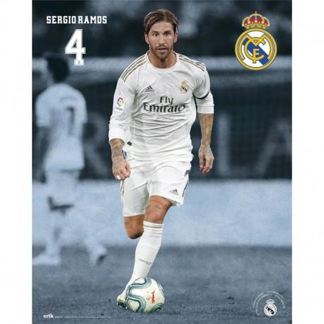 Mini Poster Real Madrid 2019/2020 Sergio Ramos