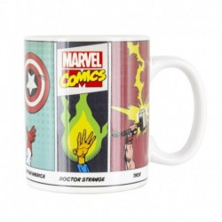 Taza Termocolora Marvel Comics Powers